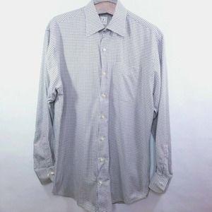 Peter Millar Button Down Striped Dress Shirt